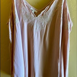 Maurice's Plus Size Tank Top Blouse. Pink.…